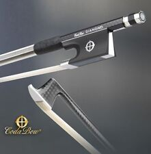 NEW! Coda Bow Violin Bow - Diamond SX - Sterling Silver Coda Inlay - Wow!