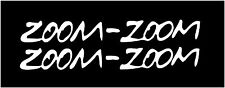Zoom zoom stickers Mazda Mazdaspeed vinyl decal car sticker