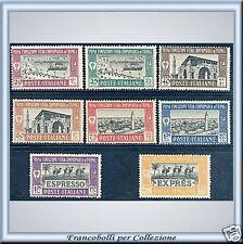 1927 Colonie Libia 1 Fiera n. 66/71+E Nuovi Integri **