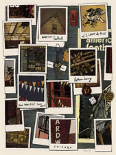 American Football Concert Poster - Landland - Limited Edition of 560