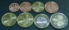 Andorra 2014 UNC complete serie met alle 8 munten, 1 cent t/m 2 euro