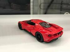 2017 Ford GT red Toy car model kinsmart 1/38 scale diecast present open doors