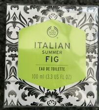New Wrapped The Body Shop Italian Summer Fig Eau De Toilette 100ml DISCONTINUED!