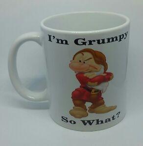 MR GRUMPY COFFEE MUG FUNNY RUDE NOVELTY CHEEKY BIRTHDAY GIFT CHRISTMAS PRESENT