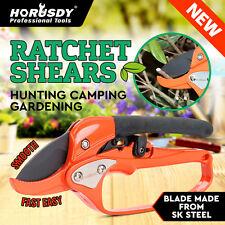 Ratchet Carbon Steel Pruning Shear Gardening Tree Flower Labor-saving Pruner