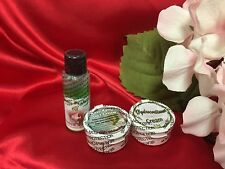 Facial Skin Whitening Set Green Peel Oil, Anti-Aging 5in1 Cream Remove Melasma