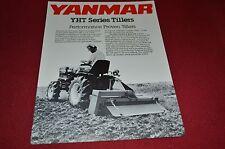 Yanmar YHT Series Tillers Dealer's Brochure DCPA4