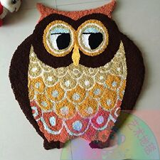 Owl Kids Bedroom Carpet Cartoon Area Rugs Cute Door Mat  (68cm*62cm )