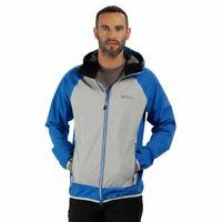 Regatta Mens Imber III Lightweight Breathable Waterproof Jacket OxBlue S