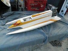 Rc Nitro Hydroplane Boat With Kb 11 cc Motor Parts