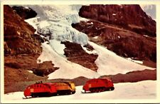 Postcard Snowmobile At Columbia Icefields