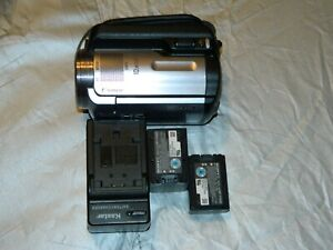 USED Sony HDR XR100 Handycam with two SONY batteries works well