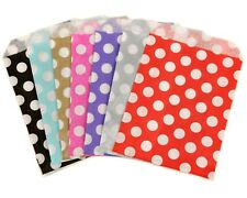 More details for polka dot spot paper sweet bags pick n and mix bag gift bags wedding candy cart