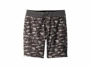 Rip Curl Big Kids Single Fin Lay Days Boardshorts (Grey/White, Size 29)