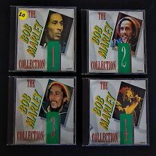 The Bob Marley Collection Volume 1-4 Lot of 4 Audio CD's UK Reggae 47 Tracks