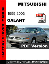 automotive pdf manual ebay stores rh ebay com 1996 Mitsubishi Galant 1999 mitsubishi galant service manual