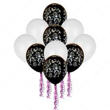 30-100 Rosa Y Mezcla De Color Metálico Perlado Globos Para Boda Día del Padre Reino Unido