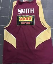 Qld State Of Origin Singlet Cam Smith Jersey Melbourne Storm Kangaroos Jersey