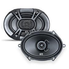"""CT Sounds Bio 5x7"""" Car Speakers 2-Way Audio Coaxial Door Coax Speaker Set (Pair)"""