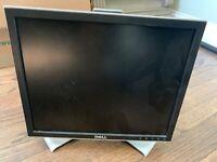 "Dell 17"" Computer Monitor 1708Fpt 1707fpt VGA DVI LCD Flat Screen"