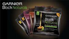 3 packs Garnier Black Naturals Almond Oil Enriched Cream Hair Color Ammonia Free