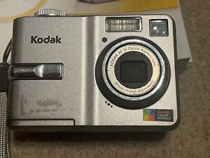 Kodak Easy Share C743 Digital Camera 7.1 MP 3x Zoom Silver Fully Working