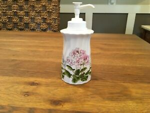Vintage Takahashi San Francisco Porcelain Vanity Soap/Lotion Pump Dispenser