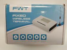 FWT Fixed Wireless Terminal GSM SIM Desktop Phone Caller GSM850/900/1800/1900MHZ