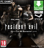 Resident Evil / biohazard HD REMASTER PC Steam Key FAST DELIVERY! [NO CD/DVD]