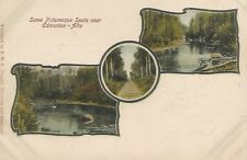 Edmonton Alberta Canada Picturesque Spots Postcard 1906