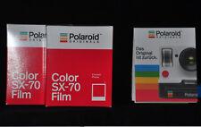 2 Pack per film for Polaroid 500, 1000, 1500, 2000, Polaroid Originals color