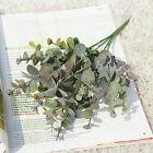 Artificial Fake Eucalyptus Leaves Green Plants Hotel Garden Home Decoration