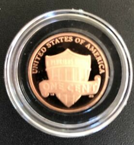 2021 S Proof Lincoln Deep Cameo Cent in capsule
