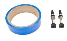 Velocity Tubless Tape & Valve Kit Tubeless Kit Velocity 24mm 39mmpv 2whl