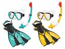 Kinder Profi Tauch und Schnorchelset mit Tauchmaske Schnorchel Jet-Fin-Flossen