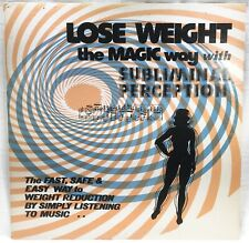 1977 LOSE WEIGHT The MAGIC Way With SUBLIMINAL PERCEPTION LP Vinyl RECORD Folk
