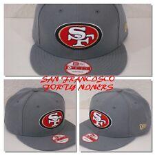 San Francisco 49ERS Storm Gray Basic NFL New Era 9Fifty Snapback Hat