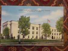 Vintage Postcard Supreme Court And State Library Building, Cheyenne, Wyoming