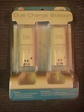 CTA Digital, Dual Charge Station Controller Charging Docks for  Nintendo Wii NEW