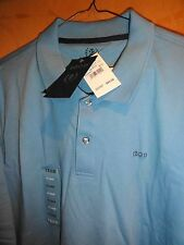 IZOD MENS POLO SHORT SLEEVE SHIRT NEW W TAGS BLUE COLOR XXL MSRP $40.00