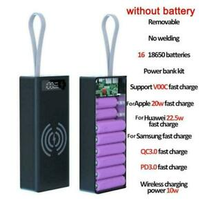 16x18650 Detachable LCD Display DIY Battery Case Power ox B Shell Bank U1Y1