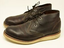 Red Wing Heritage 3140 Men's Work Chukka Boot Dark Brown 8.5 8.5D USA made