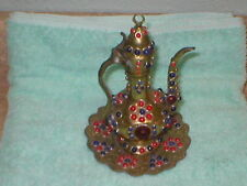 Vintage Brass Tea Pot *Made In India*
