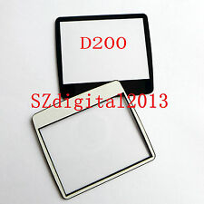Window Display (Acrylic) Outer Glass For NIKON D200 Digital Camera Repair +Glue