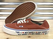 4b66c9a44bcb55 Vans Authentic SF Salt Wash Skate Shoes Potters ClayMens SZ 9 ( VN0A3MU6VLA  )