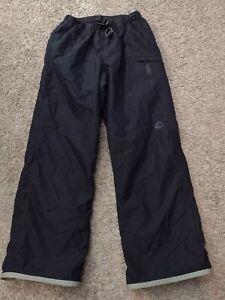 NIKE ACG 3 Women's Snow Pants Medium Black Outer Layer Snowboard Ski F