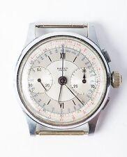 Vintage BOVET Prima 3 Pusher Chronograph around1940 Wrist Watch