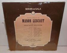 3C 153 18411/12 Puccini Manon Lescaut Teatro Alla Scala Molajoli  New Sealed