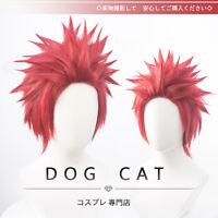 My Boku no Hero Academia Eijirou Kirishima Costume Cosplay Wig Need style