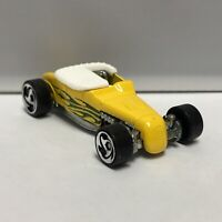 Hot Wheels Yellow Track T 1:64 Scale Diecast Toy Car Model Mattel